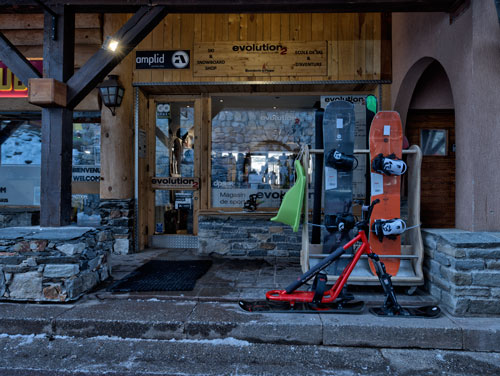 Evolution 2 SKI SHOP Les Coches