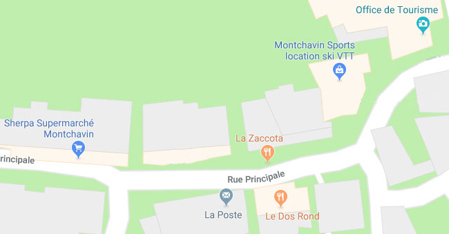 Locate the Montchavin Sport store on Google Map